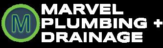 MARVEL PLUMBING + DRAINAGE Logo